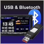 Bluetooth & USB
