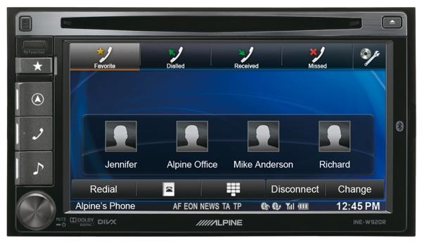 Mobile Media станция Alpine INE-W920R