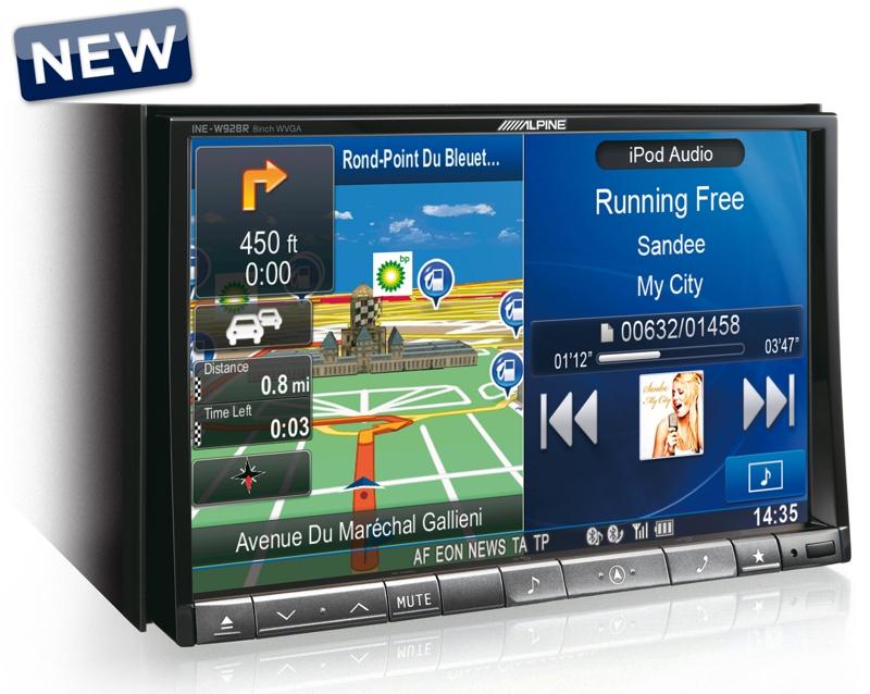 Mobile Media станция Alpine INE-W928R